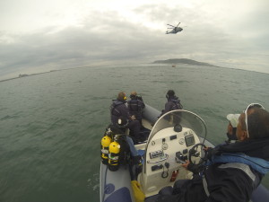 LBRC provides support for AW101 SAR demo